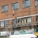 UK Scaffolder's Death Wish