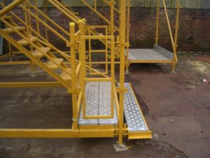 kWIKSTAGE 4 LEG STAIR CASE - ST HELENS PLANT