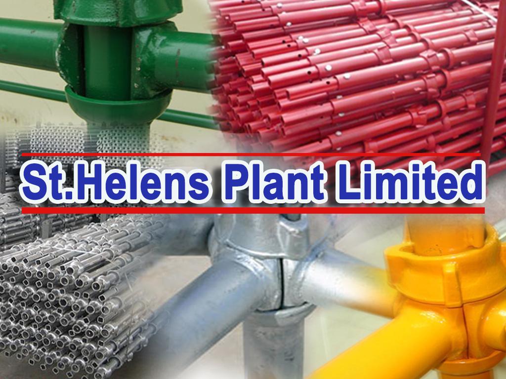 Cuplok-R2Lok Scaffolding - St Helens Plant
