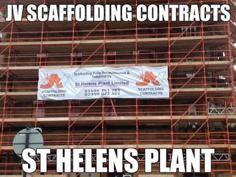 JV Scaffolding - Castle Street Project, Glasgow