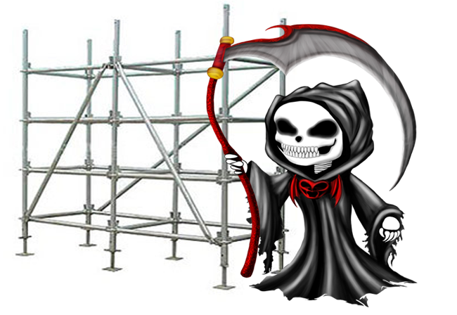 Deadly Scaffolding Supplies