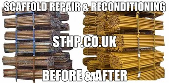 Recondiioned and Repaired Scaffolding St Helens Plant