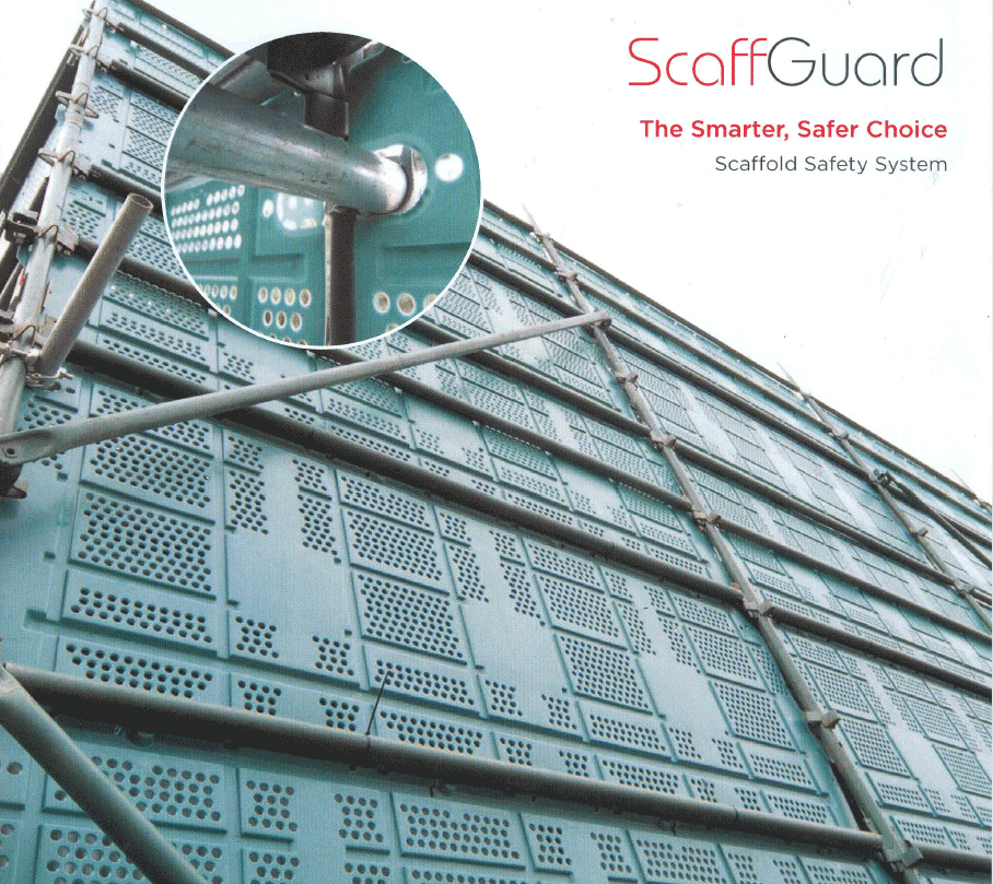 Self Leveling Scaffolding : Tulip scaffguard scaffolding safety system coming soon