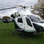 Air Ambulance Assistance After a Man Falls 20 Feet From Scaffolding