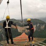 Extreme Engineering and Scaffolding… Death Defying Engineers!