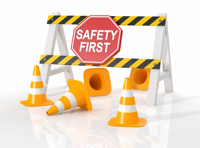 safety first - safe scaffolding