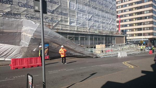 scaffold collapse london