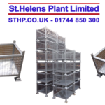 Fresh Fabrications – Large Galvanised Stillage Bin