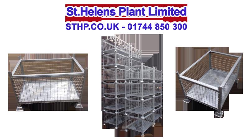 Heavy Duty Steel Stillage Bin