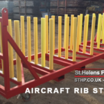 Supersized Custom Aerospace Stillage: Aircraft Rib Stillage