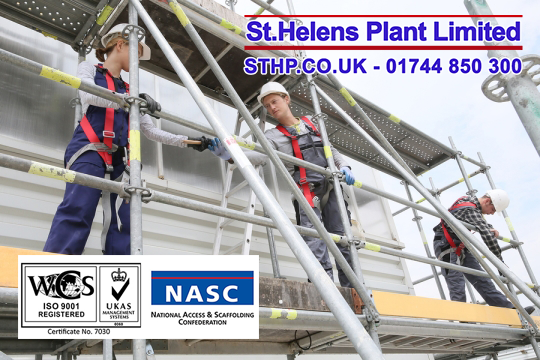 Scaffolding Safety St Helens Plant
