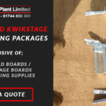 Galvanised Kwikstage Packages – Galvanised Scaffolding Available