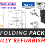Used Scaffolding Packages Available – Kwikstage, Cuplock, Tube and Fittings