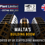 Malta's Building Boom Continues to be Supported by UK Scaffolding Manufacturer
