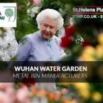Wuhan Water Garden Bins – Chelsea Flower Show – Metal Bins