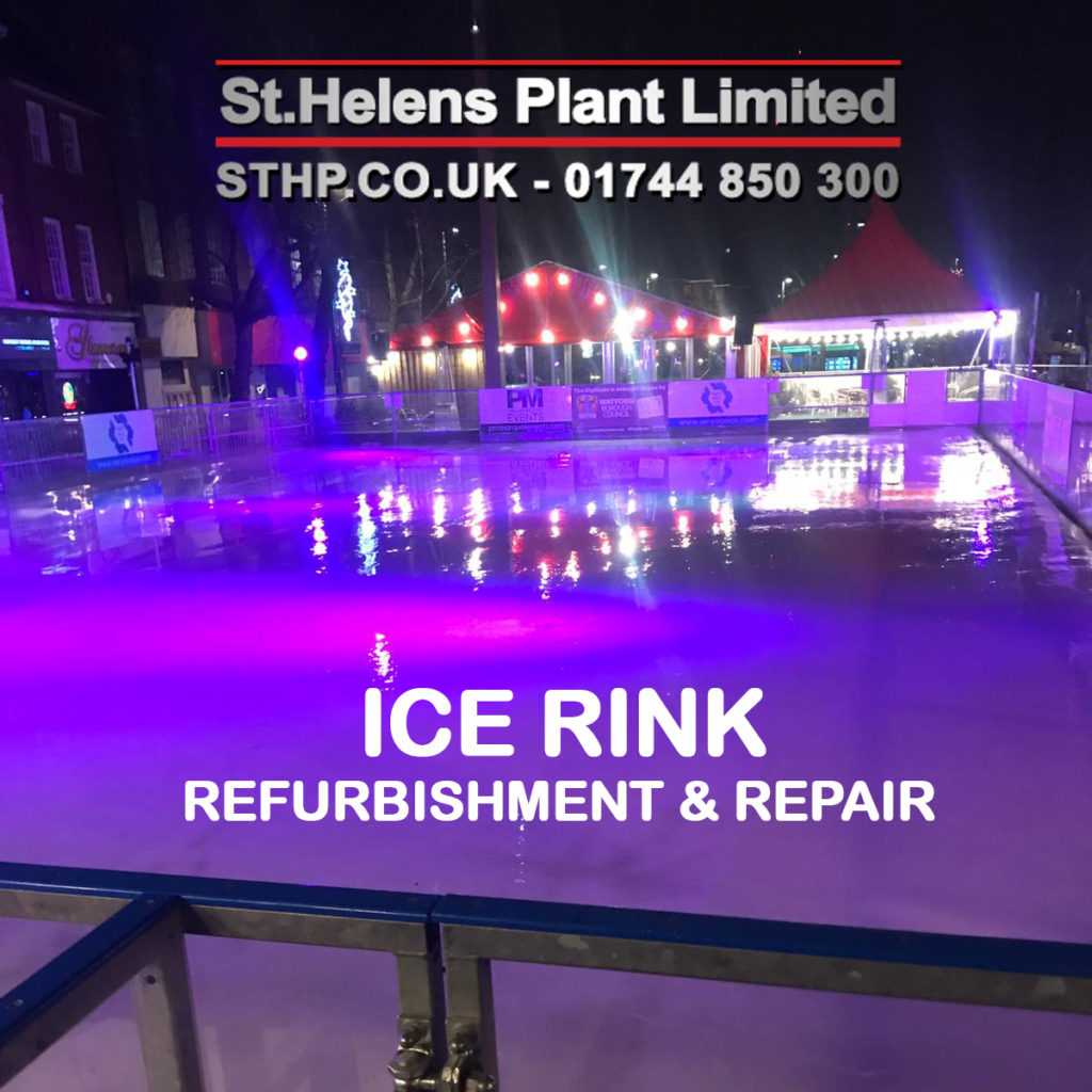 Ice Rink Refurbishment and Repair - St Helens Plant