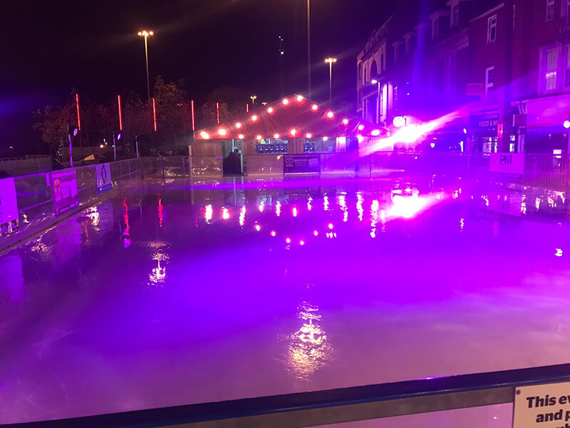 ice rink refurbishment 2