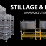New Year: New Space Saving Stillage Solutions – Steel Pallets and Bins