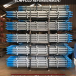 Kwikstage Scaffolding Refurbishment: Two-Coat Paint System