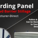 Hoarding Panel Stillage and Crowd Barrier Stillage: Manufacturer-Direct