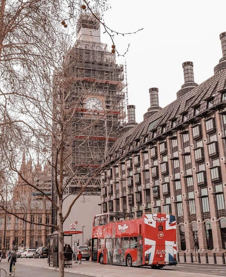 Scaffolding Big Ben London