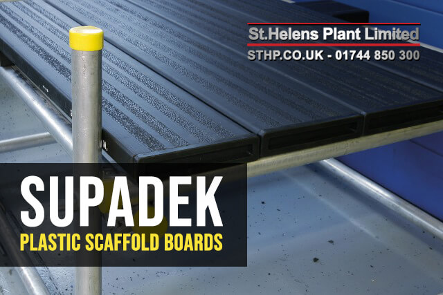 SupaDeck - Plastic Scaffold Boards - SHP