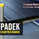 SupaDek Plastic Scaffold Boards: Available from St Helens Plant