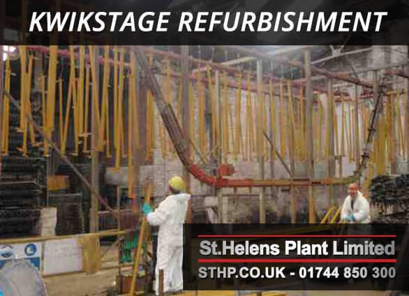 kwikstage refurbishment