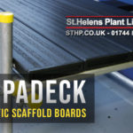 SupaDeck Plastic Scaffold Boards: Available from St Helens Plant