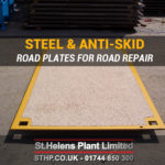 Anti-Skid Road Plates for Roads Repair & Potholes