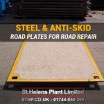 Anti-Skid Road Plates for Roads Repair & Potholes