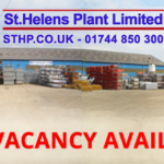 We're Hiring! Job Vacancies Available: St Helens Plant