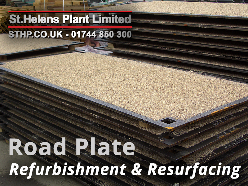 road plate refurbishment
