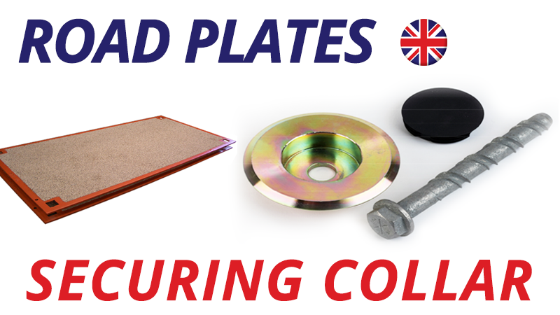road plates securing collar