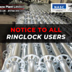 Notice to All Ringlock Users: Ringlock Refurbishment