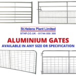 Aluminium Agricultural Gates: UK Manufacturer & Supplier