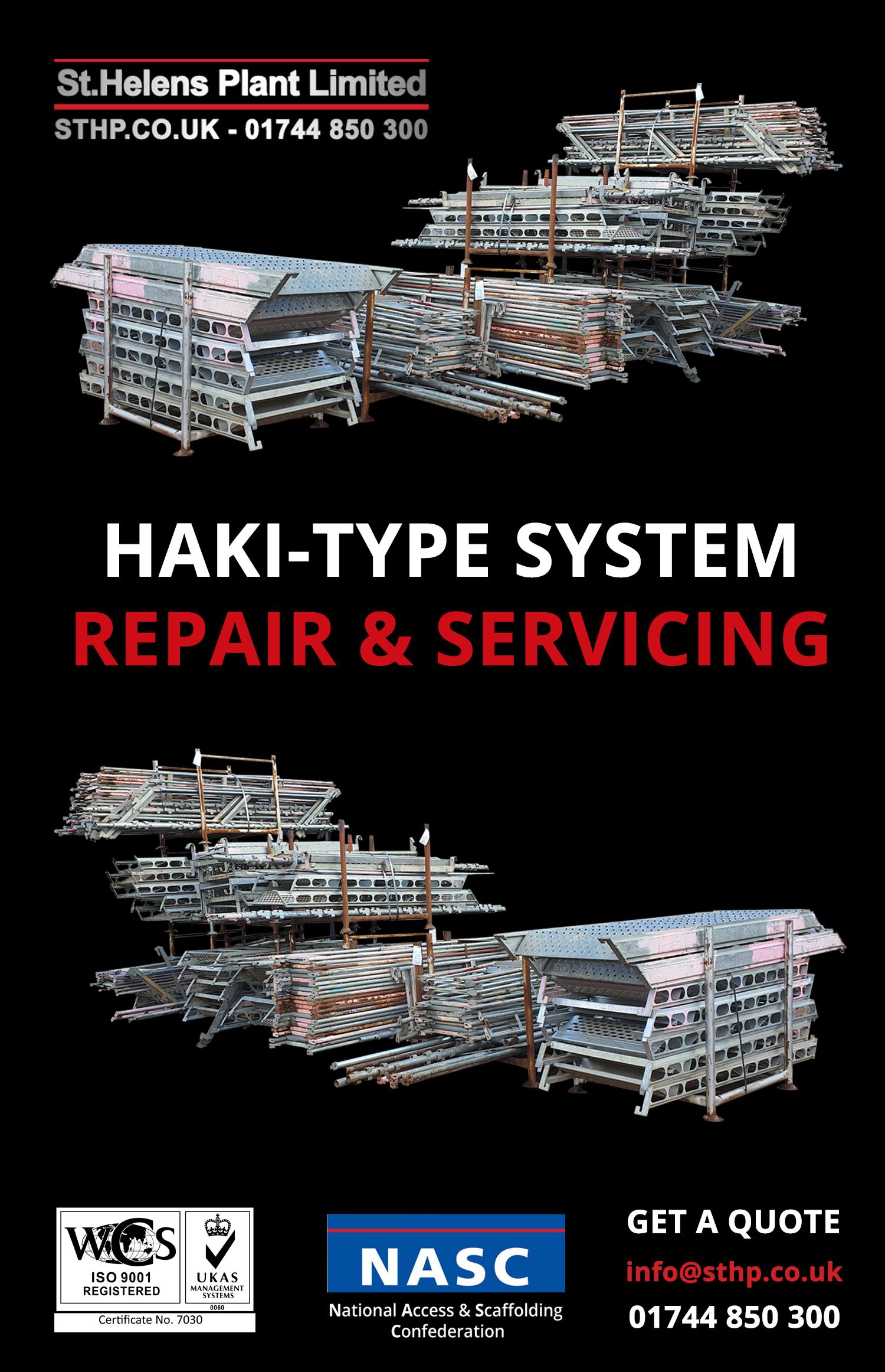 haki - servicing and repair