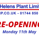 St Helens Plant – Re-Opening: Monday 11th May