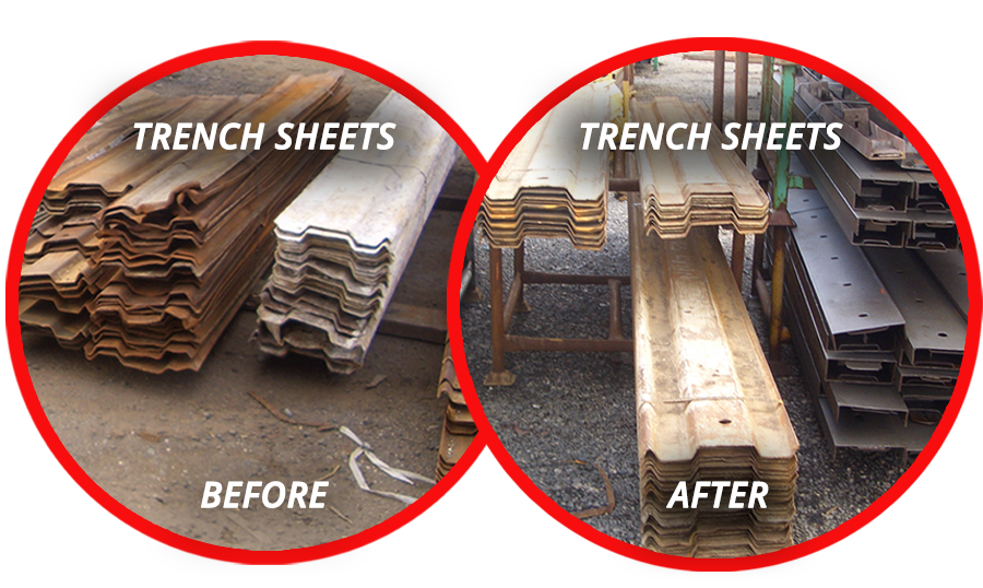 trench sheets