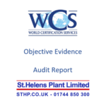 Another Successful Audit – Thanks to the St Helens Plant Team!