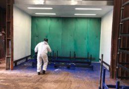New Spray Booth