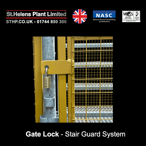 Gate Lock - Stair Guard System