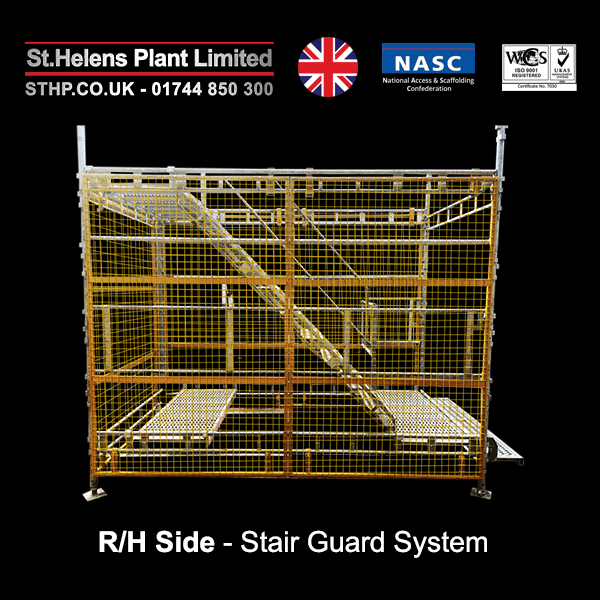 stair guard system - RH side