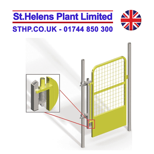 Ladder Access Gate – Spring Loaded