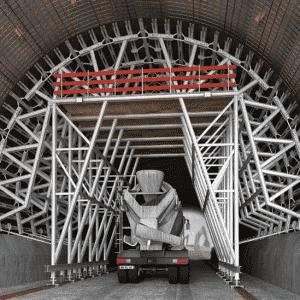 Tunnel Formworking – Shorflex® TN System