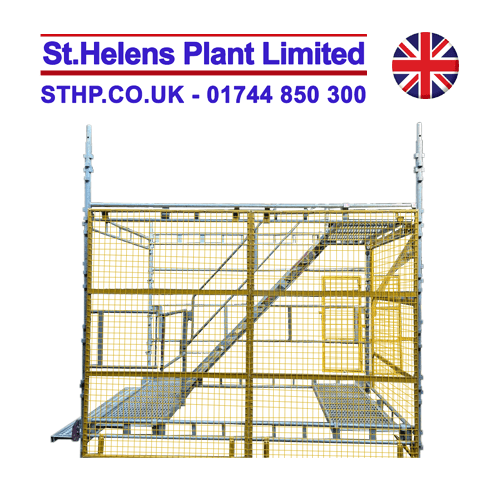 Stair Guard System – (can be made for any scaffold)